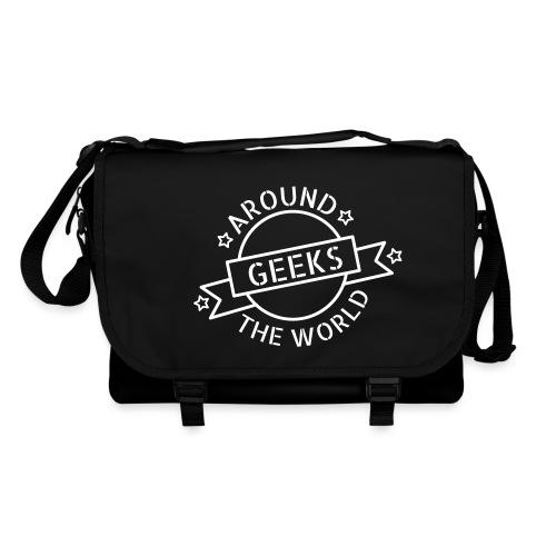 Geeks around the world - Sac à bandoulière