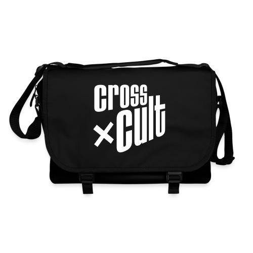 Cross Cult Logo Weiß - Umhängetasche