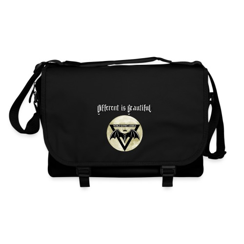 Different is Beautiful with Moon WGM Logo - Shoulder Bag