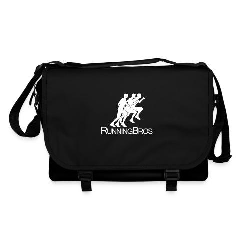 RunningBros Logo weiß - Umhängetasche