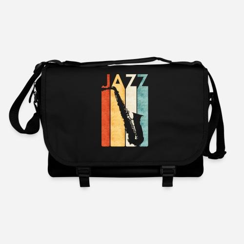 Jazz Saxophon Retro - Umhängetasche