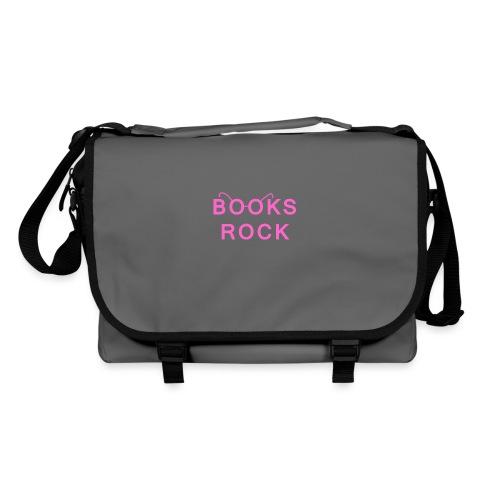 Books Rock Pink - Shoulder Bag