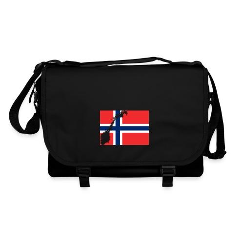 Norges Flagg - Umhängetasche