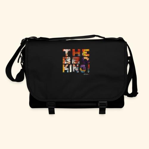 THE BBQ KING T SHIRTS TEKST - Schoudertas