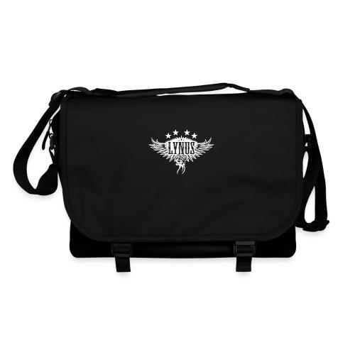 Large Lynus logo White - Shoulder Bag