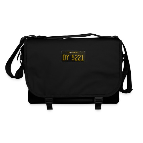 CALIFORNIA BLACK LICENCE PLATE - Shoulder Bag