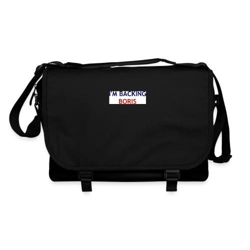 Backing Boris - Boxer Shirts - Shoulder Bag
