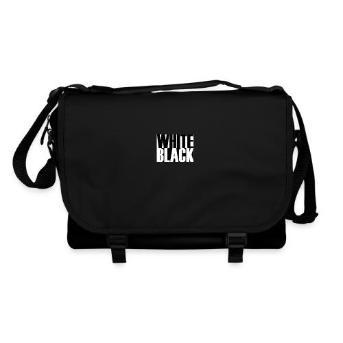 White, Black T-shirt - Schoudertas