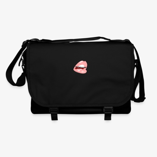 With Pleasure Mouth Logo - Shoulder Bag