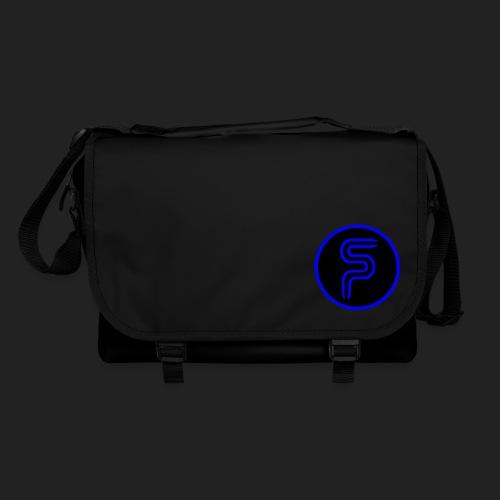 Saberproject Kreis Logo schwarz - Umhängetasche