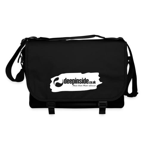 deepinside world reference marker logo white - Shoulder Bag