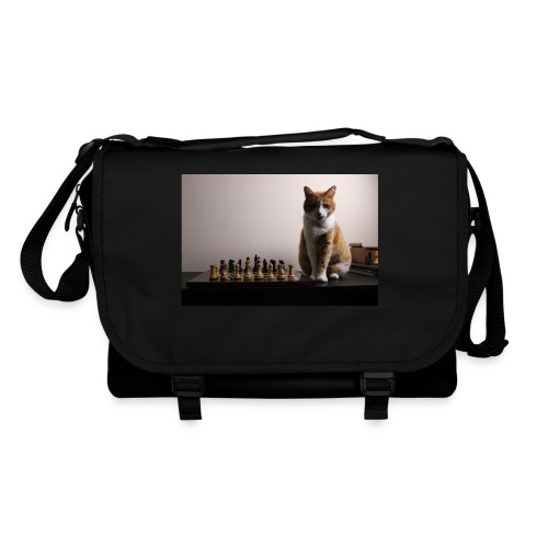 Charlie and his chess board - Shoulder Bag