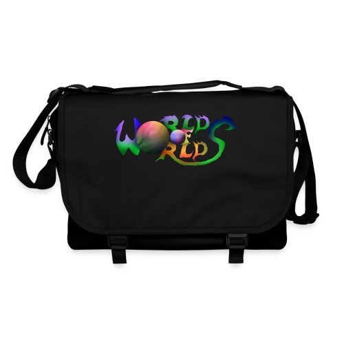World of Worlds Title - Bolso de bandolera