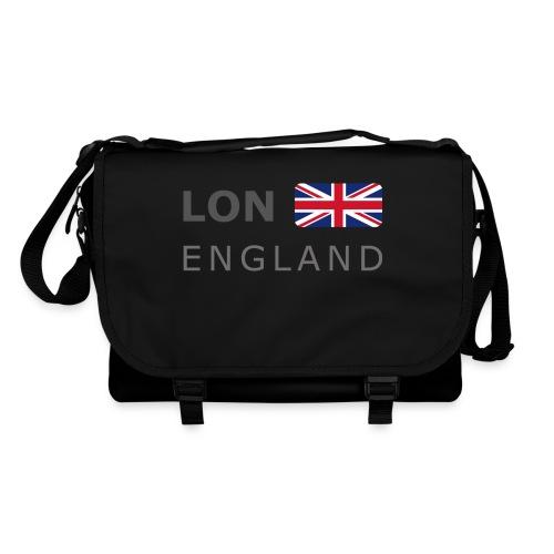 LON ENGLAND BF dark-lettered 400 dpi - Shoulder Bag