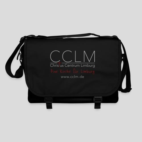 CCLM Logo Slogan web - Umhängetasche