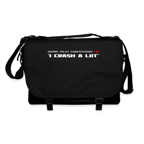 I CRASH A LOT - Shoulder Bag
