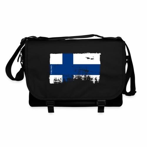 Suomen lippu, Finnish flag T-shirts 151 Products - Olkalaukku