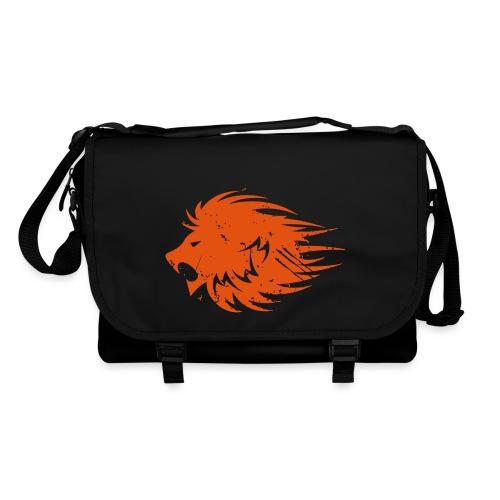 MWB Print Lion Orange - Shoulder Bag