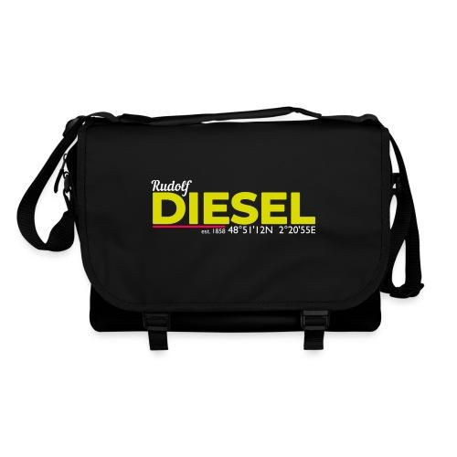 Rudolf Diesel geboren in Paris I Dieselholics - Umhängetasche