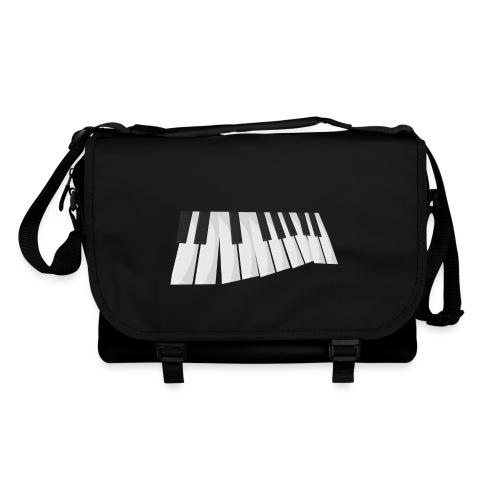 Une certaine perspective du piano en noir et blanc - Sac à bandoulière