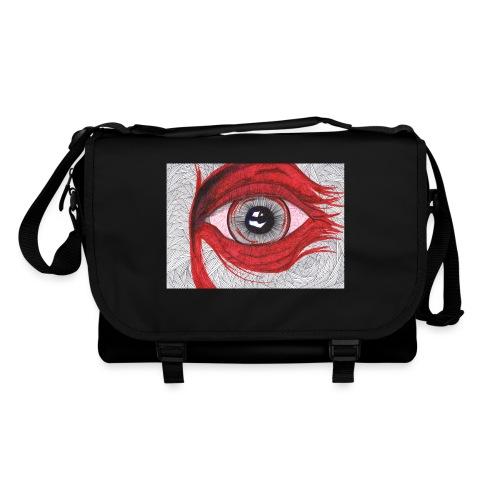 Auge - hypnotischer Blick - Umhängetasche
