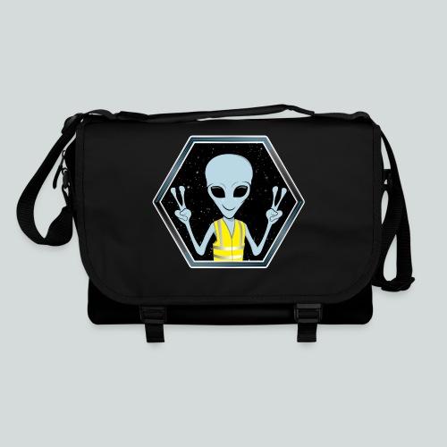 Extraterrestre Gilet jaune - Sac à bandoulière