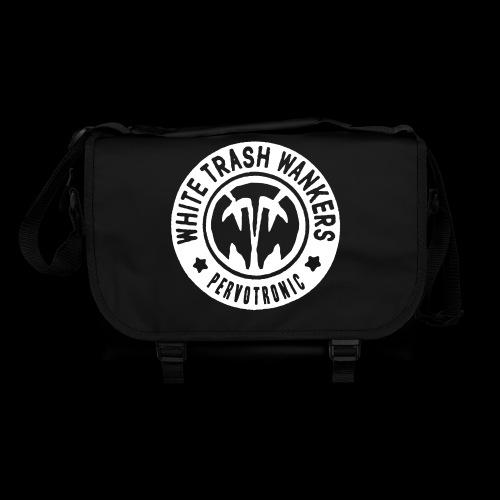 White Trash Wankers Pervotronic-Logo - Umhängetasche