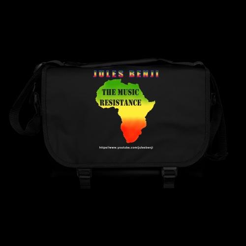 JULES BENJI & MUSIC RESISTANCE africa design - Shoulder Bag
