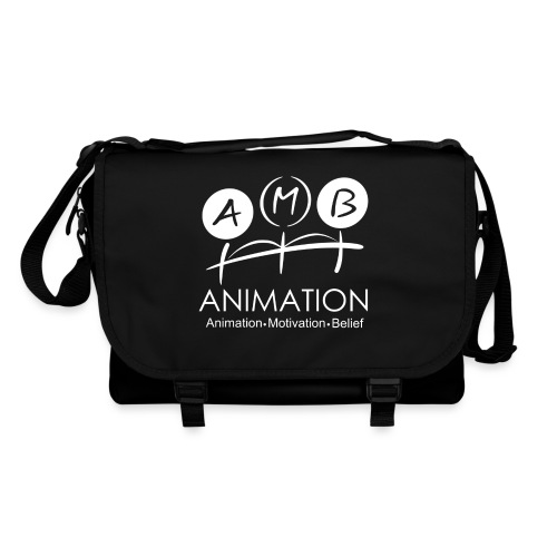 AMB Logo Animation Motivation Belief - Shoulder Bag