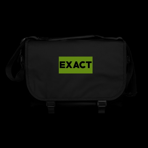 Exact Classic Green Logo - Shoulder Bag