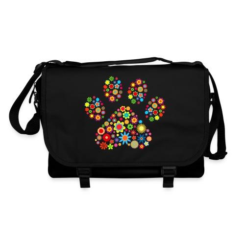 Vorschau: flower dog paw cat - Umhängetasche