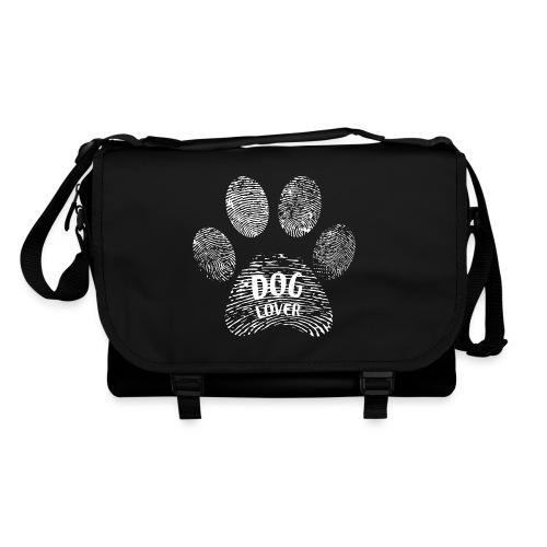 dog lover paw - Umhängetasche