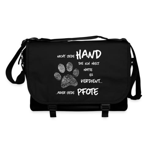 Vorschau: Hand Pfote Hund - Umhängetasche
