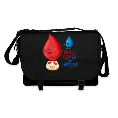 Blut ist dicker als Wasser lustig - Umhängetasche