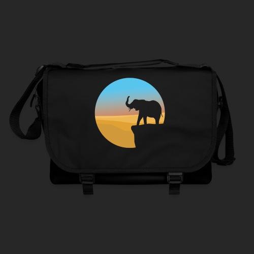 Sunset Elephant - Shoulder Bag