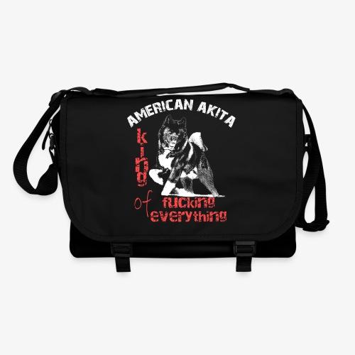 American Akita - King of fucking everything - Shoulder Bag