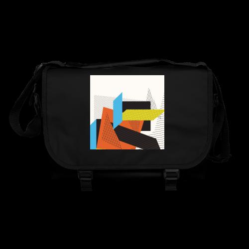 Vintage shapes abstract - Shoulder Bag