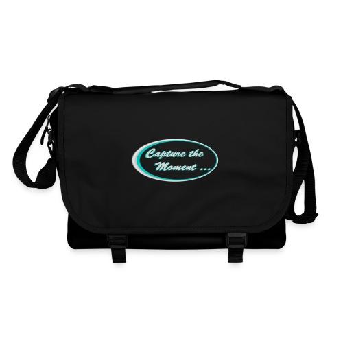 Logo capture the moment photography slogan - Shoulder Bag