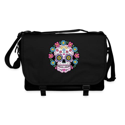 Dia de los Muertos Skull- - Shoulder Bag