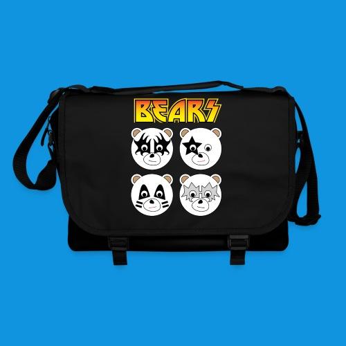 Kiss Bears square.png - Shoulder Bag