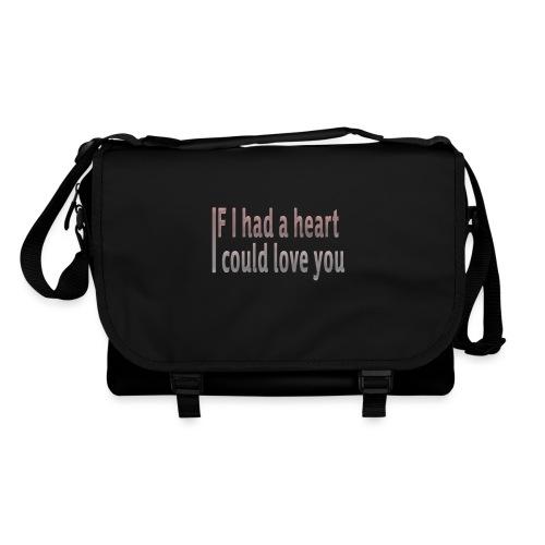 if i had a heart i could love you - Shoulder Bag