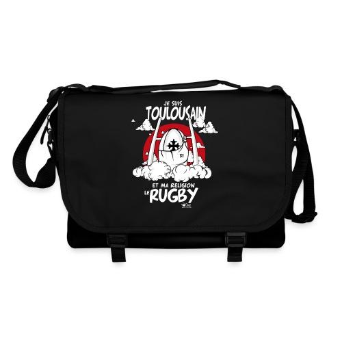 religion rugby noir png - Sac à bandoulière