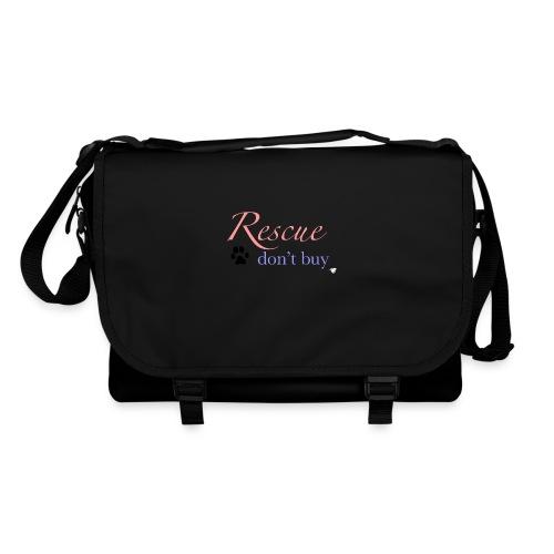 Rescue don't buy - Shoulder Bag