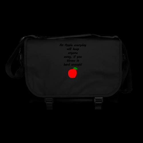 Apple Apfel Doctor Zitat Spruch Lustig - Umhängetasche