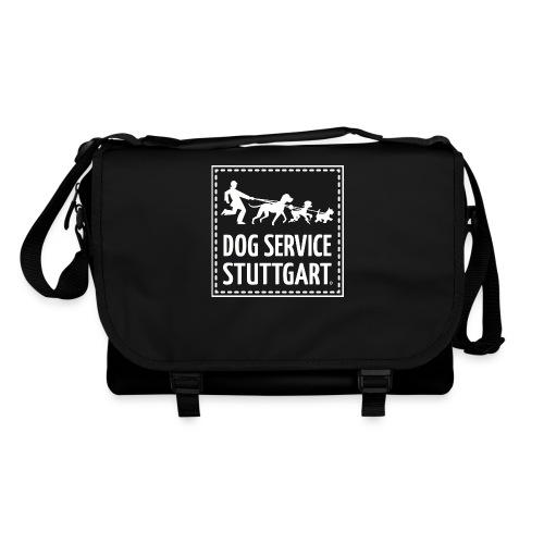 Dog Service Stuttgart schwarz - Umhängetasche