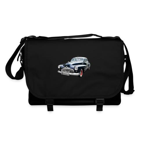 Classic Car. Buick zwart. - Schoudertas