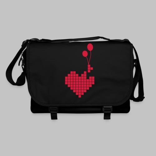 heart and balloons - Shoulder Bag