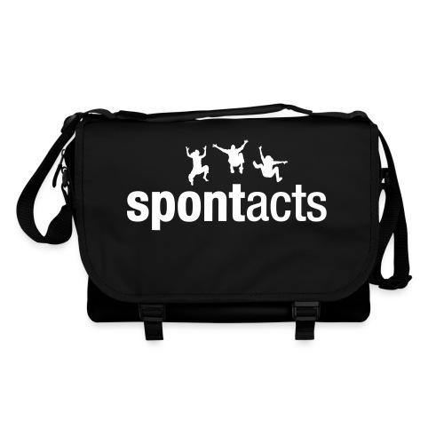 spontacts_Logo_weiss - Umhängetasche