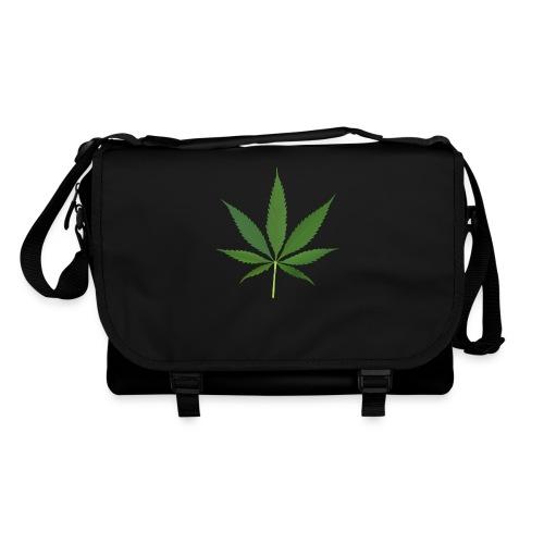 2000px-Cannabis_leaf_2 - Skuldertaske