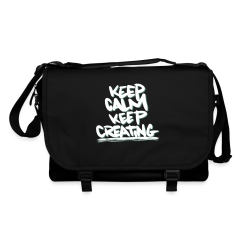 Keep Calm Keep Creating - Skuldertaske